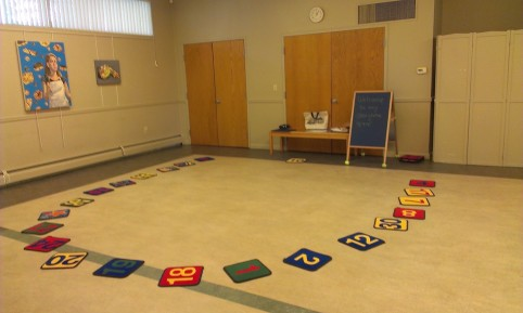I like how I can have circle time and craft time in the same room.